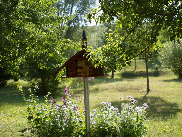 Wildbienenkapelle im Dollespark